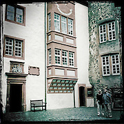 The courtyard of Ronneburg.
