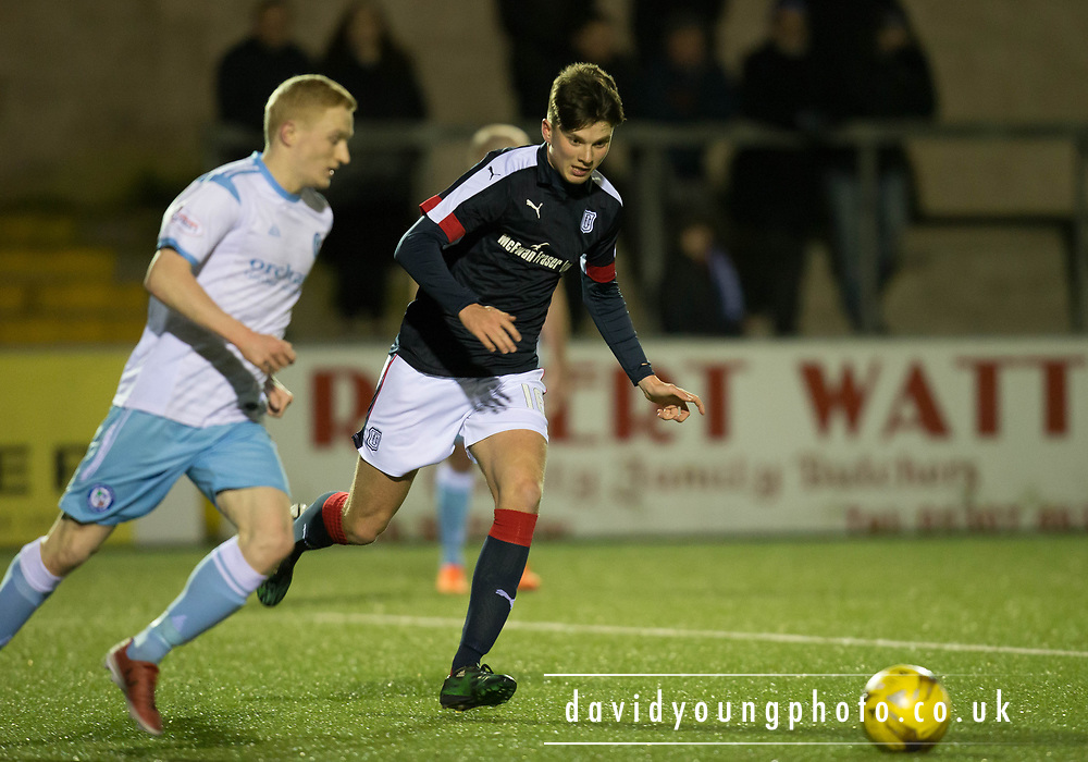 Dundee's Mark Smith - Forfar Athletic v Dundee, Martyn Fotheringham testimonial at Station Park, Forfar.Photo: David Young<br /> <br />  - &copy; David Young - www.davidyoungphoto.co.uk - email: davidyoungphoto@gmail.com