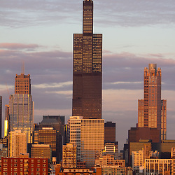 The Willis Tower - Chicago Stock Images