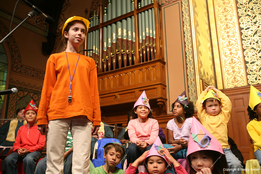 A Children's Service on Sunday 10/19 at Middle Collegiate Church on Second Ave, in the East Village of Manhattan.