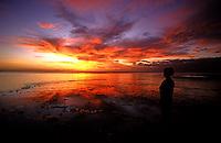 Enjoying the Sunset..Shot in Kingdom of Tonga