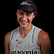 Portrait of ultra marathon runner Krissy Moehl moments after completing the Grind Stone 100 Mile ultra marathon in Swoope, VA, Friday, Oct. 04, 2008...Moehl completed the race in 21 hours, 54 minutes and 09 seconds and was the female winner of the race...The Grindstone is the hardest 100 mile race east of the 100th meridian. ...
