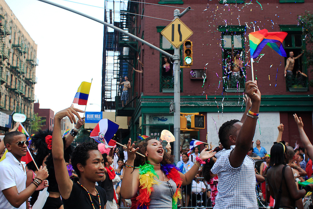 Pride Parade.  Manhattan, NYC