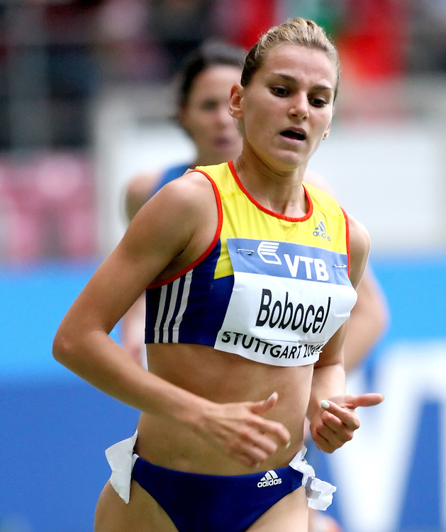 (Stuttgart, Germany---13 September 2008) Ancuta Bobocel of Romania finished eigth in the 3000m steeple chase at the 2008 IAAF World Athletics Final. [Copyright Sean W. Burges/Mundo Sport Images, 2008.]