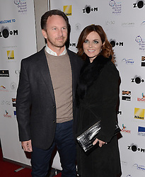 Christian Horner and Geri Halliwell attend Zoom F1 Charity Auction and Reception at The InterContinental Hotel, Park Lane, London on Friday 16 January 2015