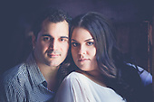 a rustic e-session in Kitchener