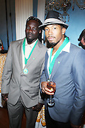 1 July 2010, New York , NY- l to r: Gregory Anthony and Andre Kirton at the Mayor's Cricket Cup Tournament Presentation sponsored by Moet Hennessey held at Gracie Mansion on July 1, 2010 in New York City. Photo Credit: Terrence Jennings/Sipa