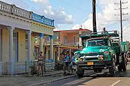 Truck in Pinar del Rio, Cuba.