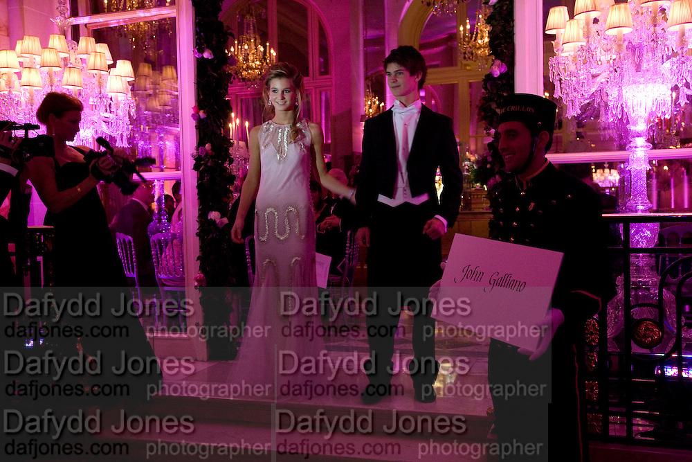 MARGUERITE DE TAVERNOST; FRANCOIS DE TAVERNOST, The 2008 Crillon Debutante Ball, Crillon Hotel. Paris. 29 November 2008 *** Local Caption *** -DO NOT ARCHIVE -Copyright Photograph by Dafydd Jones. 248 Clapham Rd. London SW9 0PZ. Tel 0207 820 0771. www.dafjones.com