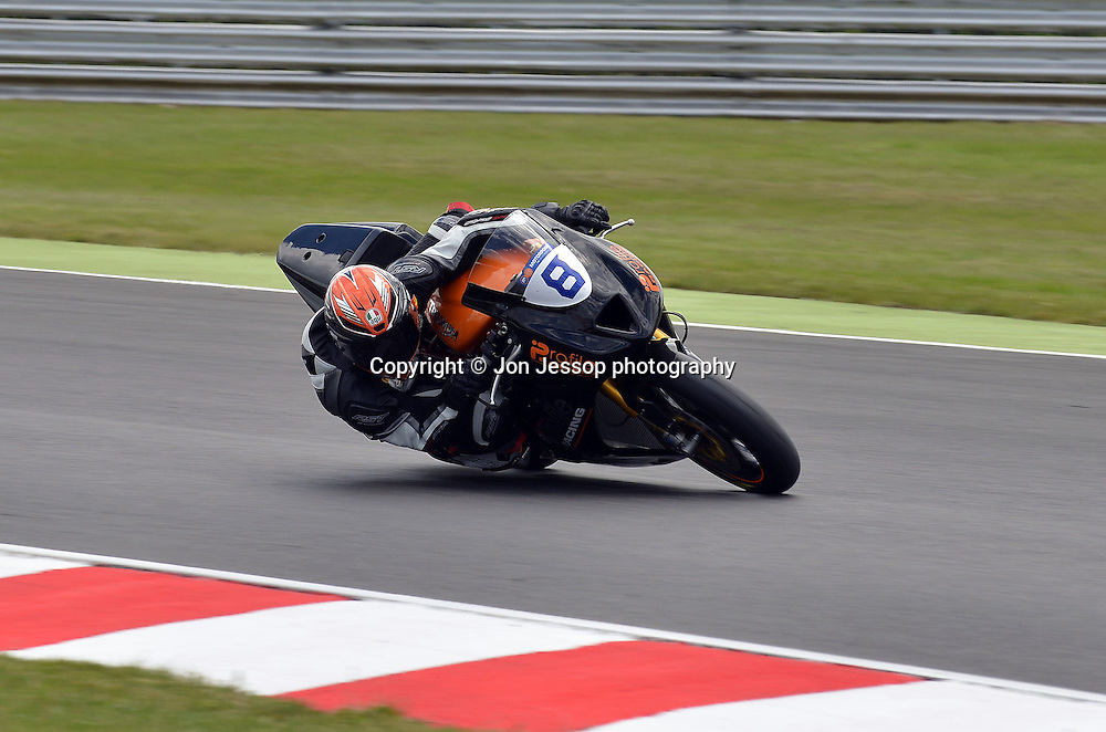 #8 Luke Stapleford Profile Racing Triumph British Supersport