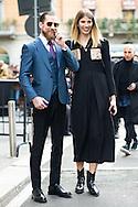 Justin O'Shea and Veronika Heilbrunner at Gucci FW2015
