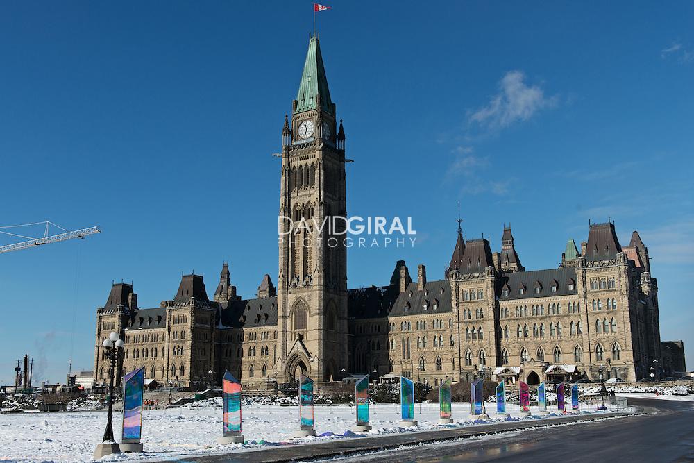 Center Block Building - Parliament Hill Ottawa