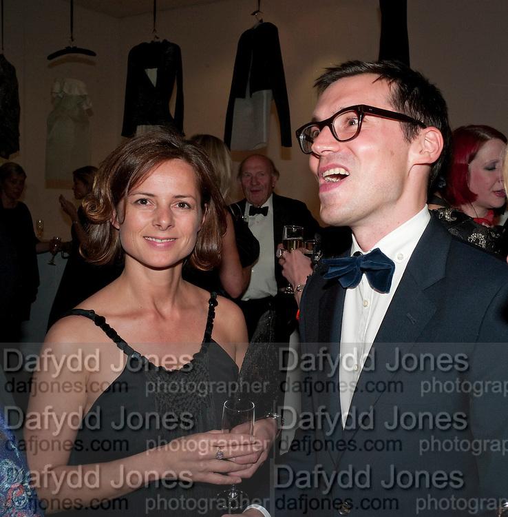HARRIET QUICK; ERDEM; , The Royal College of Art Fashion Gala. Kensington Gore. London. 11 June 2009.
