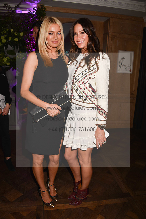 Tess Daly and Lisa Snowdon at the 2017 Fortnum &amp; Mason Food &amp; Drink Awards held at Fortnum &amp; Mason, Piccadilly London England. 11 May 2017.<br /> Photo by Dominic O'Neill/SilverHub 0203 174 1069 sales@silverhubmedia.com