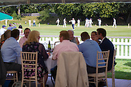 Cricket and fundraising lunch at Priory Park, Chichester sponsored by George Ide LLP.<br /> Picture date: Friday August 5, 2016.<br /> Photograph by Christopher Ison &copy;<br /> 07544044177<br /> chris@christopherison.com<br /> www.christopherison.com