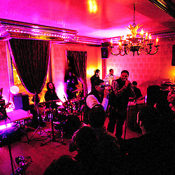 """Washington, DC, January 20, 2011 - Empresarios plays Eighteenth Street Lounge for the """"Sabor Tropical"""" album release party."""