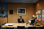 MV Kulkarni, Arcelor Mittal CEO in Zenica <br /> <br /> Matt Lutton / Boreal Collective for the Financial Times.