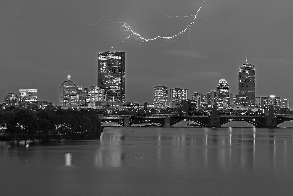 Photo prints, canvas prints, metal prints, framed prints, matted prints, print only at <br /> <br /> http://juergen-roth.pixels.com/featured/electrifying-boston-juergen-roth.html