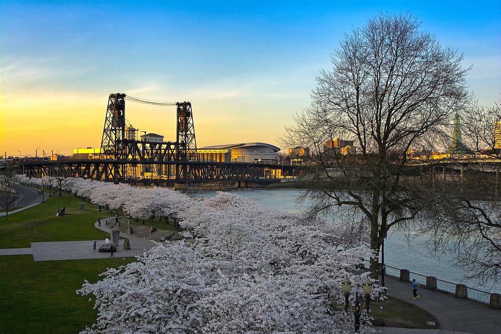 Burnside Bridge, Portland, OR.