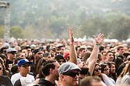 Fan during Phantogram at Air & Style LA at the Rose Bowl in Pasadena, CA. ©Brett Wilhelm/ESPN