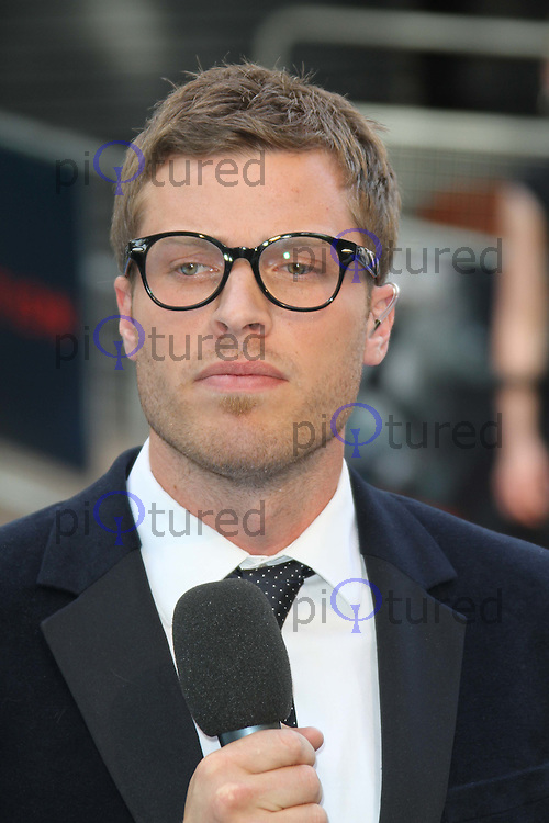 Rick Edwards Inception World Premiere held at the Odeon Cinema, Leicester Square, London, - Rick-Edwards-IMG-3623