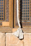 Detail of the Internal courtyard of The Arg (Citadel) of Karim Khan, Shiraz, Iran