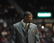 Ole Miss vs. Mississippi Valley State head coach Chico Potts in Oxford, Miss. on Friday, November 9, 2012.