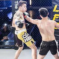 """Kitt Wei vs. Steve """"Kung Fu Kid"""" Keen"""