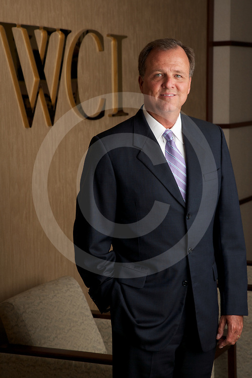 David Fry, WCI Communities President and CEO in their Bonita Springs Office. Photo By Brian Tietz <br /> www.briantietz.com<br /> mail@briantietz.com
