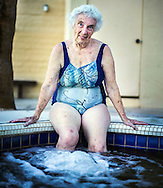 Donna Solem has been going to the Fountain of Youth Spa every winter for the last 50 years. Her parents first came to the spot after World War II. Solem is originally from the St. Paul, Minnesota area.