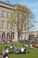 Stock shots of Trinity College, Dublin, Ireland