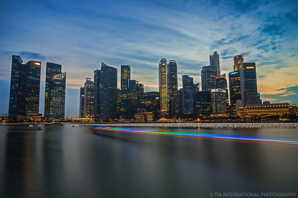 Marina Bay @ Sunset