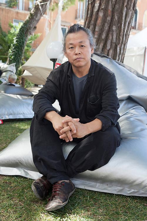 "Venice Lido, Italy, August 28, 2014. Venice Film Festival. The South Korean director Kim Ki-Duk, winner of the Golden Lion at the 69th edition of the Venice Film Festival with his film ""Pieta""."