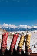 Cowboy Boots, Absaroka Mountains southwest of Livingston, Montana