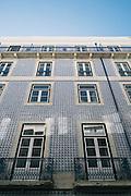 Tiles on Lisbon building