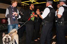 2014-10-25 Kurds protest Turkish Ambassador's ball at The Savoy
