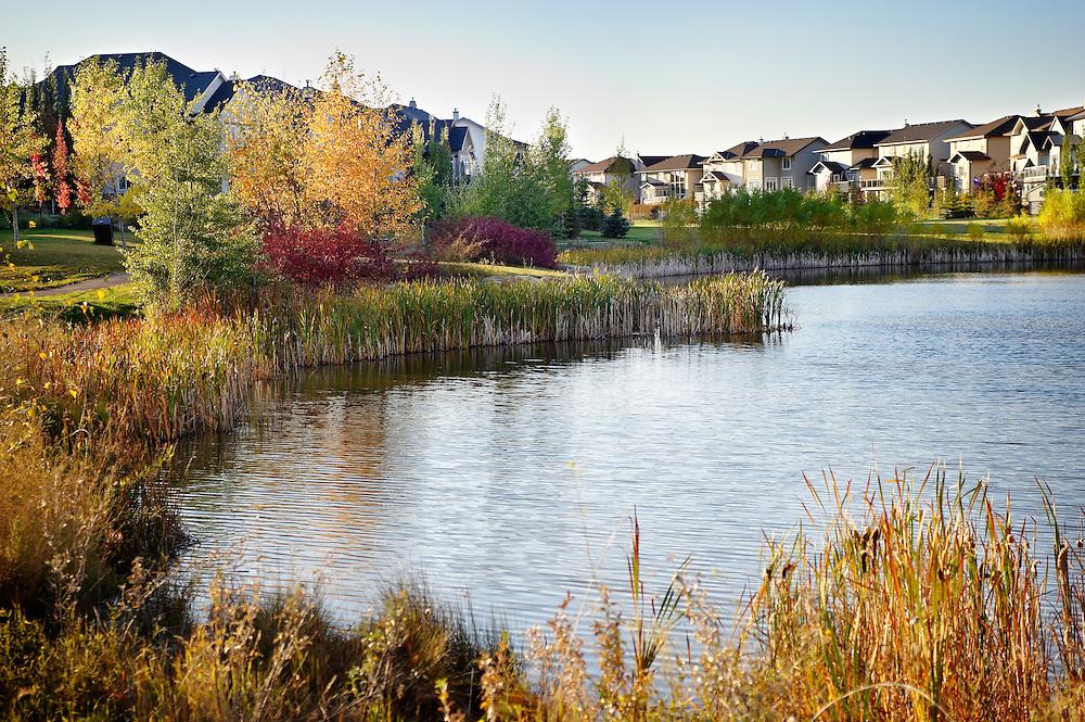 Elgin Pond, Carma Developers, Elgin, McKenzie Towne, Calgary, Alberta Canada