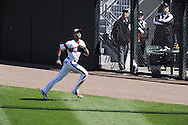 CHICAGO - APRIL 28:  Alex Rios #51 of the Chicago White Sox fields against the Tampa Bay Rays on April 28, 2013 at U.S. Cellular Field in Chicago, Illinois.  The Rays defeated the White Sox 8-3.  (Photo by Ron Vesely)   Subject: Alex Rios