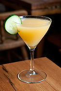 """Sawpit Struggle"" cocktail at Port Chester Hall in Port Chester, NY on Wednesday, June 11, 2014.  © Chet Gordon / Westchester Magazine"