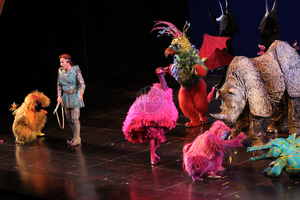 Seattle Opera's 2011 production of Magic Flute.