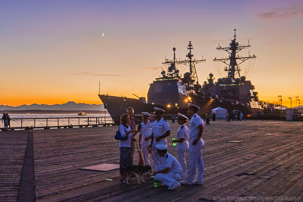 JULY 30th:  Seafair Nights with the Navy / Thank You for Your Service!