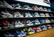 Trainers for sale in JD Sports Shop - Nov 2014.