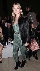 FEB 16 2014 Celebrities at day three of   London Fashion Week  A/W 2014