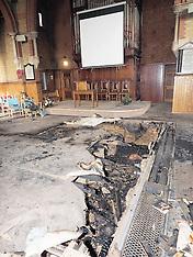 FEB 02 2014  Arson Attack Baptist Church Watford