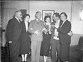 1952 Irish Motor and Cycle Trades Autumn Golf Meeting at Royal Dublin