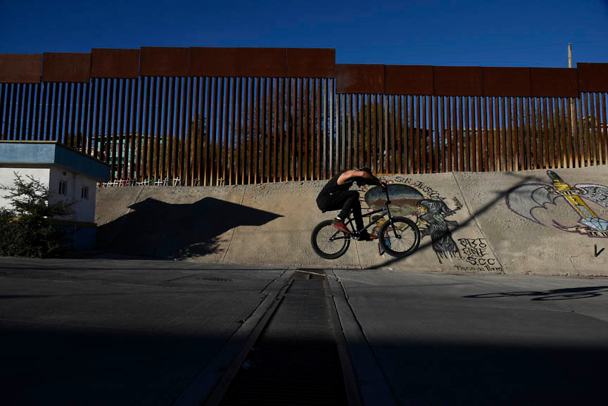 US-Mexico border wall