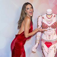 LAS VEGAS, NV - NOVEMBER 13 : Model Alessandra Ambrosio attend the Victoria's Secret Dream Angels Fantasy Bra debut at the Fashion Show mall on November 13, 2014 in Las Vegas, Nevada. Photo by Kobby Dagan/AbacaUsa.com