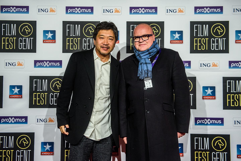 Film Fest Gent - Hirokazu Koreeda (14-10-2015)