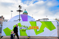City Centre, Kingston Upon Hull, East Yorkshire, United Kingdom, 31 October, 2015. CBBC Live and Digital Hull. Pictured: