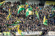 DEN HAAG - ADO Den Haag - Feyenoord , Voetbal , Eredivisie , Seizoen 2016/2017 , Kyocera Stadion , 19-02-2017 , Sfeer bij opkomst van de spelers